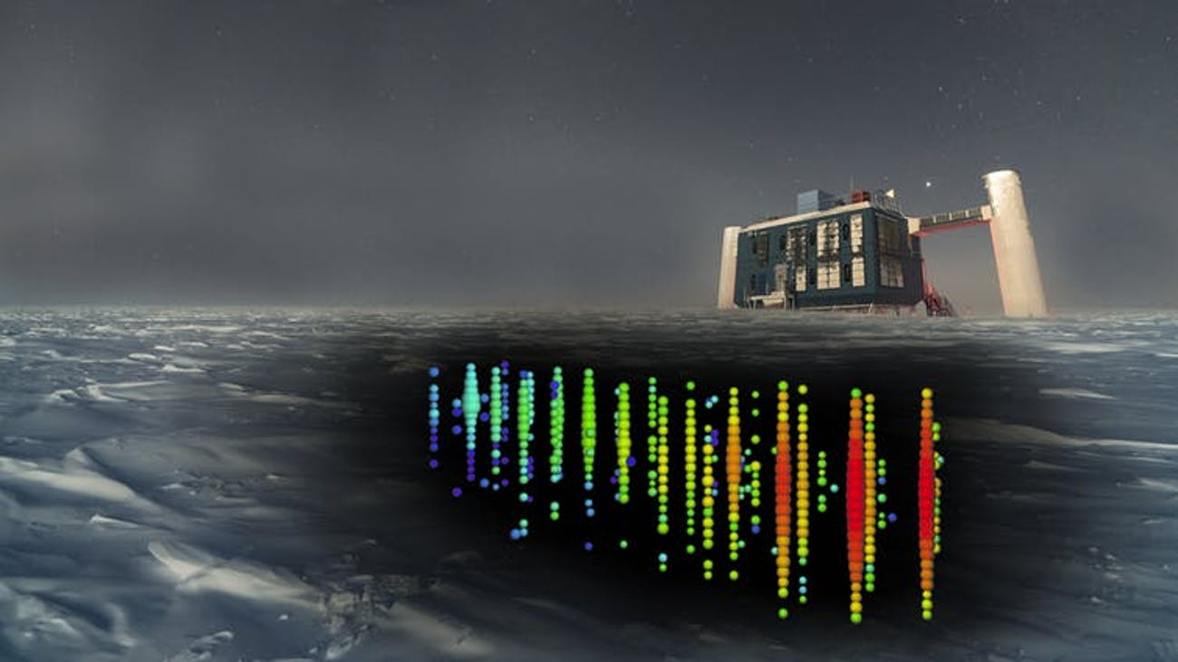 The IceCube Neutrino Observatory used a cubic kilometre of crystal-clear Antarctic ice to capture the signal of a rare neutrino that helped pinpoint a galaxy four billion light-years away with a supermassive black hole launching a jet of photons and near light-speed particles directly at our solar system.