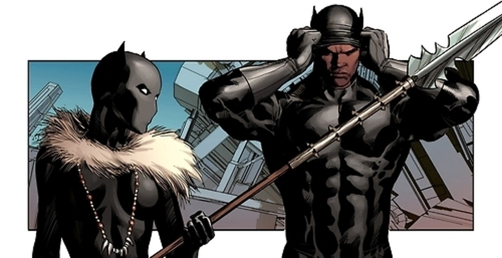 Shuri and T'Challa as Black Panther
