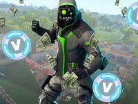 Talking V-BUCKS on Squad Up, the Fortnite Talk Show