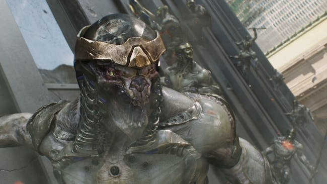 The Chitauri attacked New York and left behind a lot of their technology.