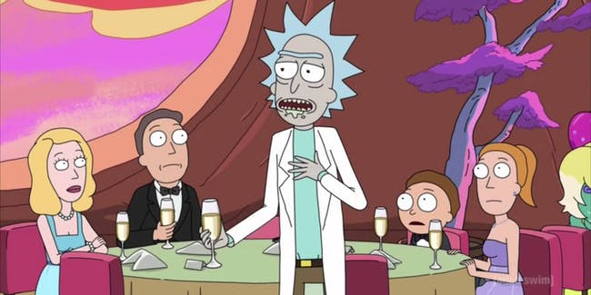 Rick and Morty is loaded with choice quotes about existentialism and nihilism and ... science!