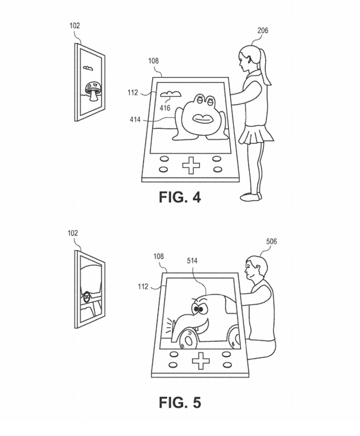 sony patent smartphone controller