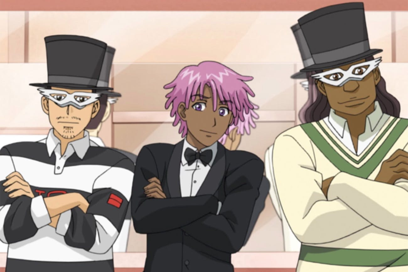 Tuxedo Mask(s) even has the top hat.