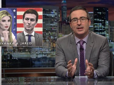 "John Oliver Slams Ivanka and Jared's ""Dangerous"" Public Image"