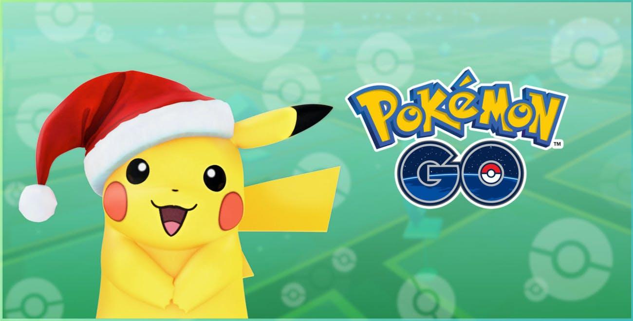 Pokemon Go Christmas Pikachu