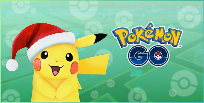 Pokemon Go Christmas Pikachu