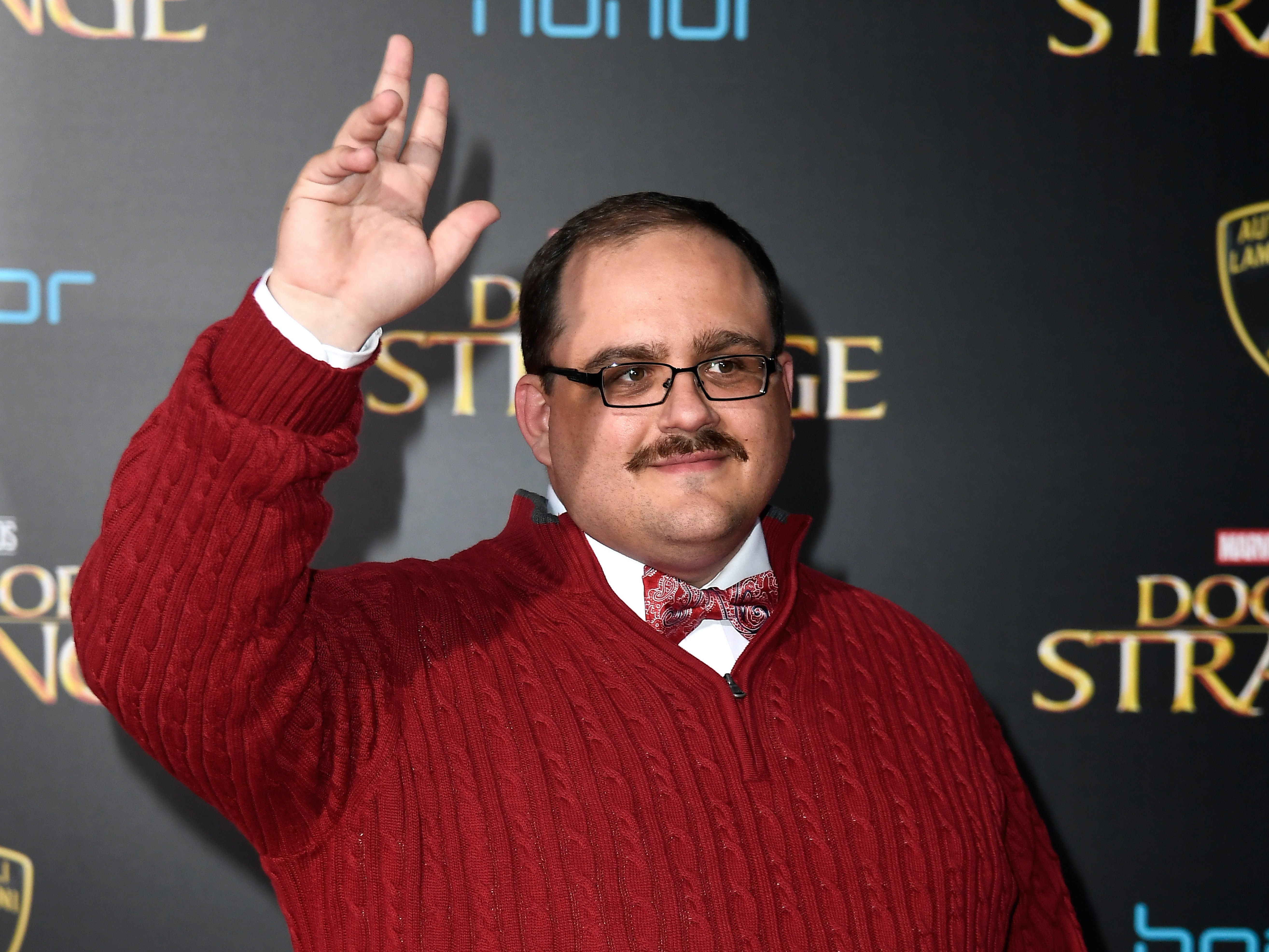HOLLYWOOD, CA - OCTOBER 20:  Ken Bone attends the premiere of Disney and Marvel Studios' 'Doctor Strange' at the El Capitan Theatre on October 20, 2016 in Hollywood, California.  (Photo by Frazer Harrison/Getty Images)