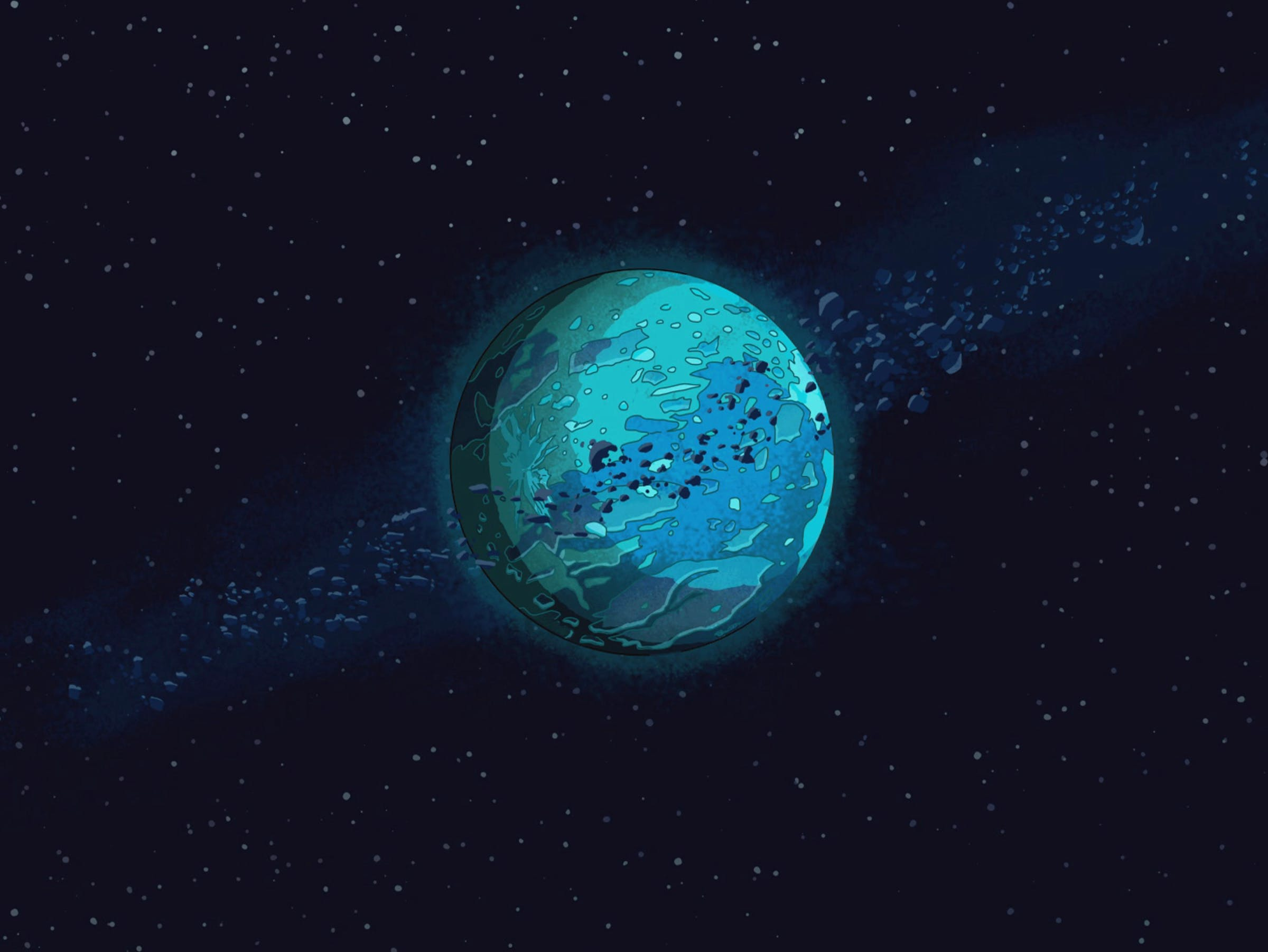"""'Rick and Morty' Pluto in """"Something Ricked This Way Comes."""""""