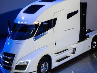 Nikola CEO Says Zero-Emissions Semi-Trucks Face Crunching Demand