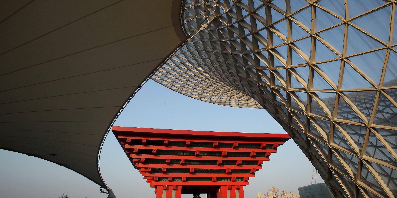 The China Pavilion at the 2010 Shanghai World Expo