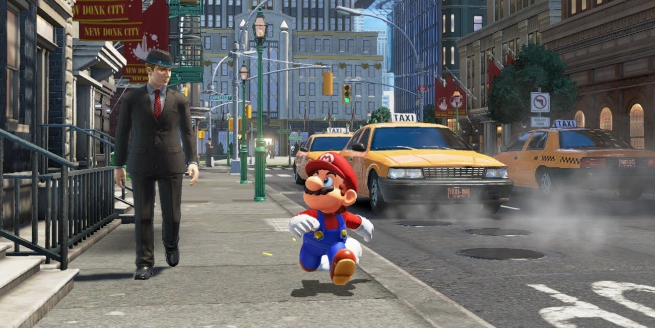 Mario goes to ... the real world?