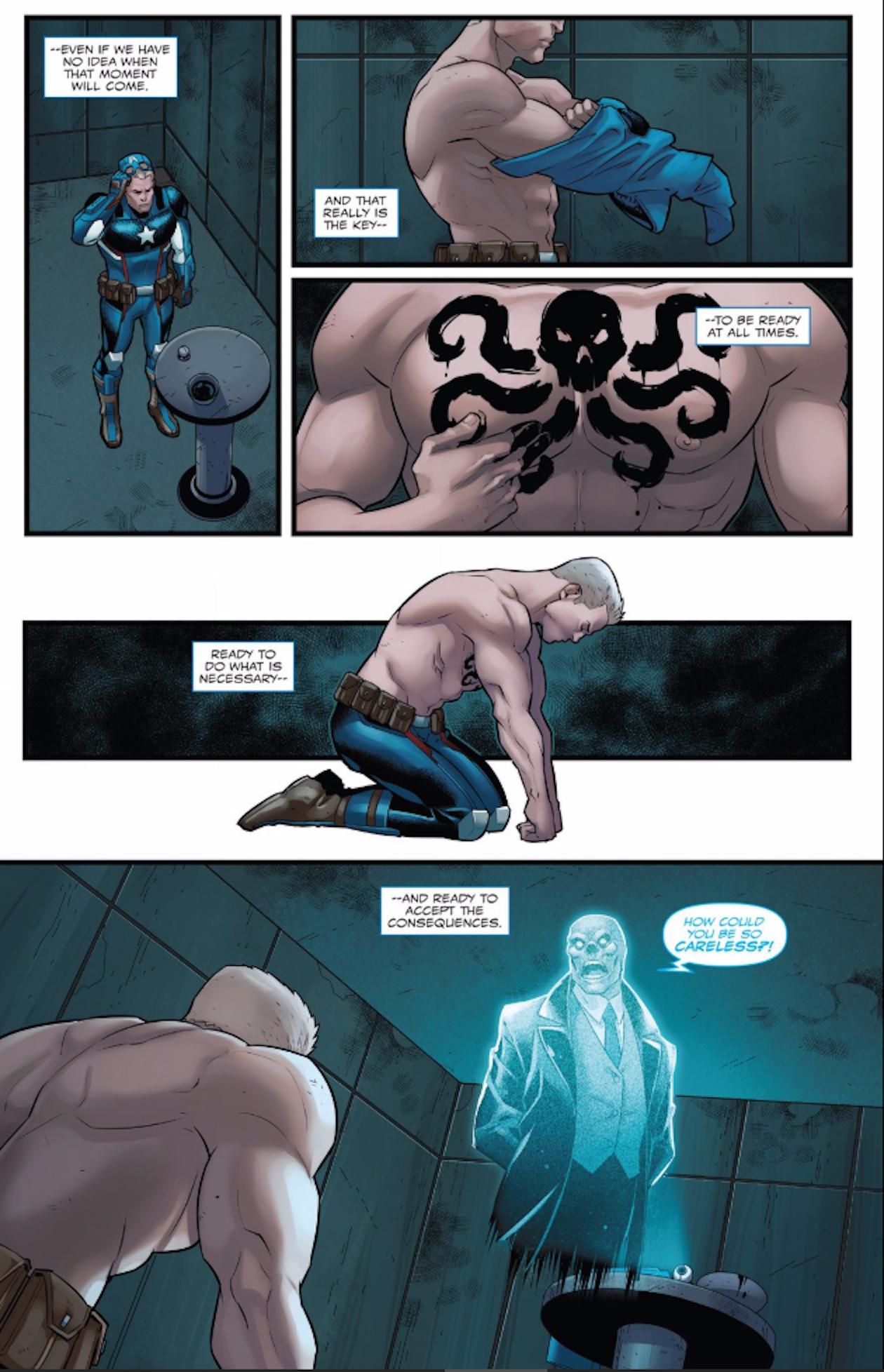 Hydra Nazi Captain America Just Ramped Up His Fascism