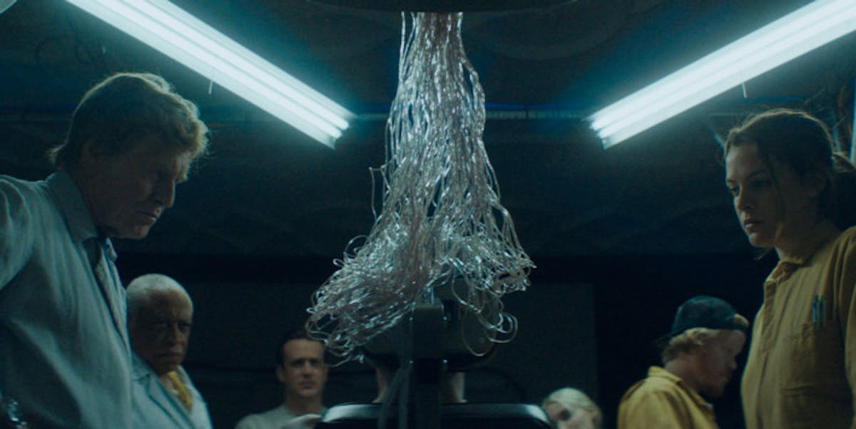 the discovery netflix the oa afterlife electric signal electrode