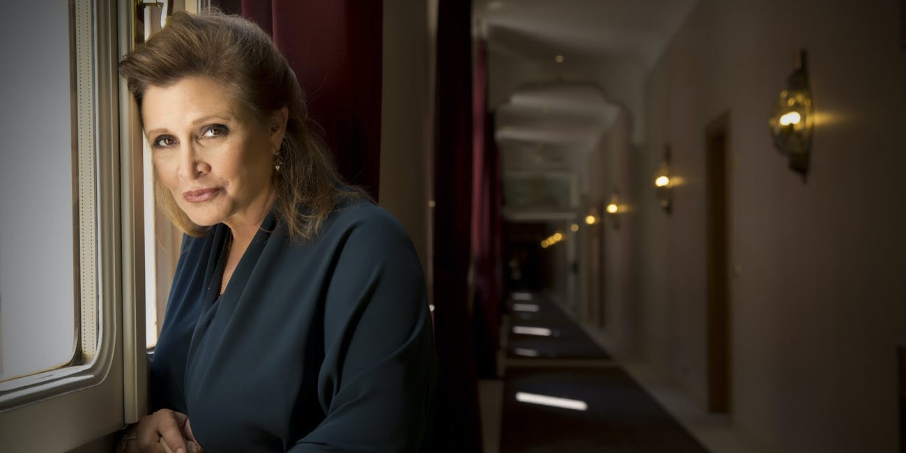 Carrie Fisher, beloved Star Wars actress and icon