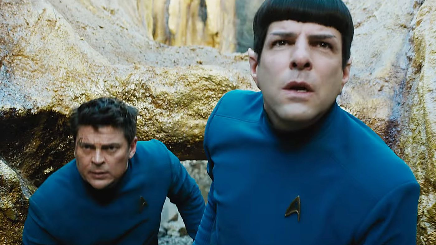 Bones and Spock