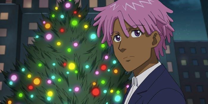 'Neo Yokio' Pink Christmas