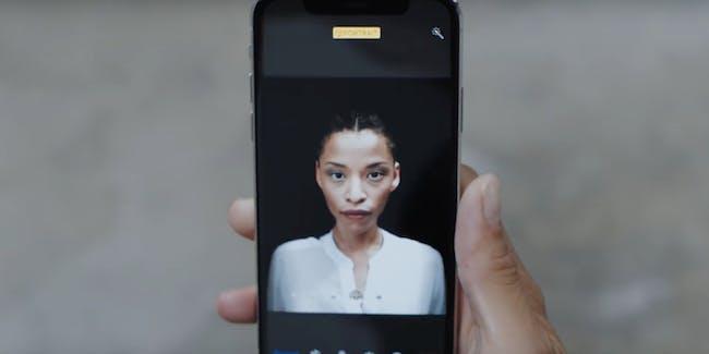 iPhone X portrait lighting