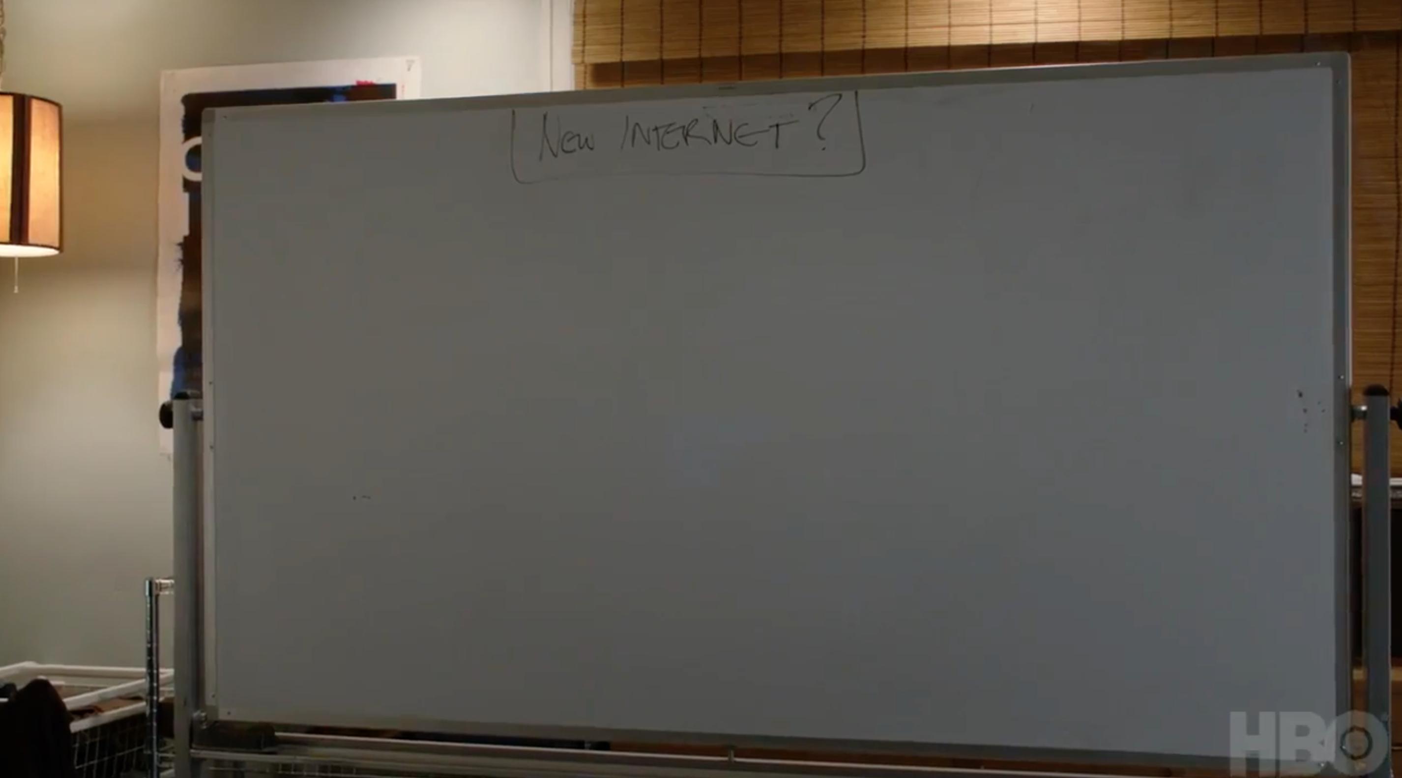 Silicon Valley Season 4 New Internet Whiteboard