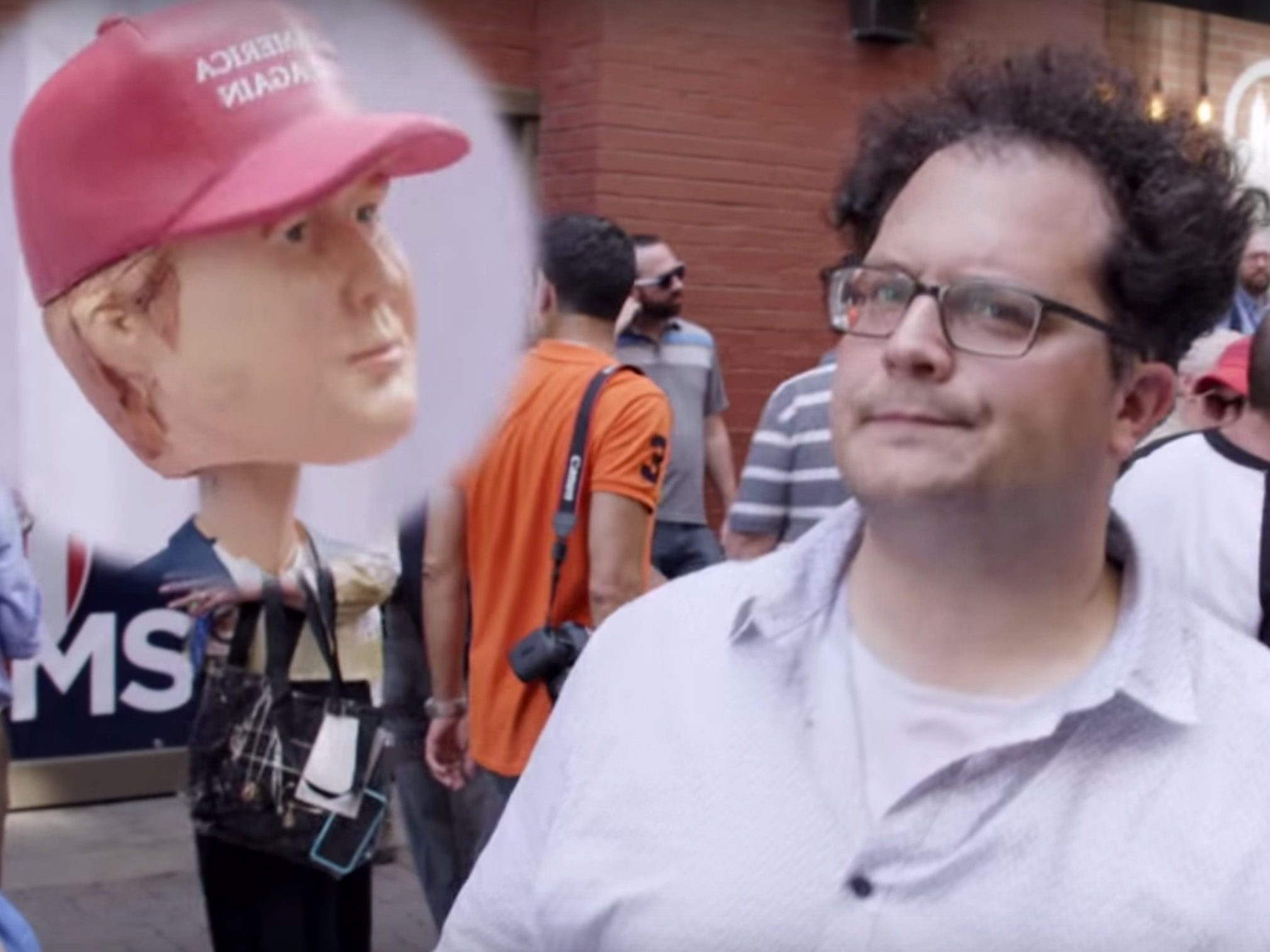 Watch the 5 Best Vic Berger and Tim Heidecker Bits from the GOP Convention