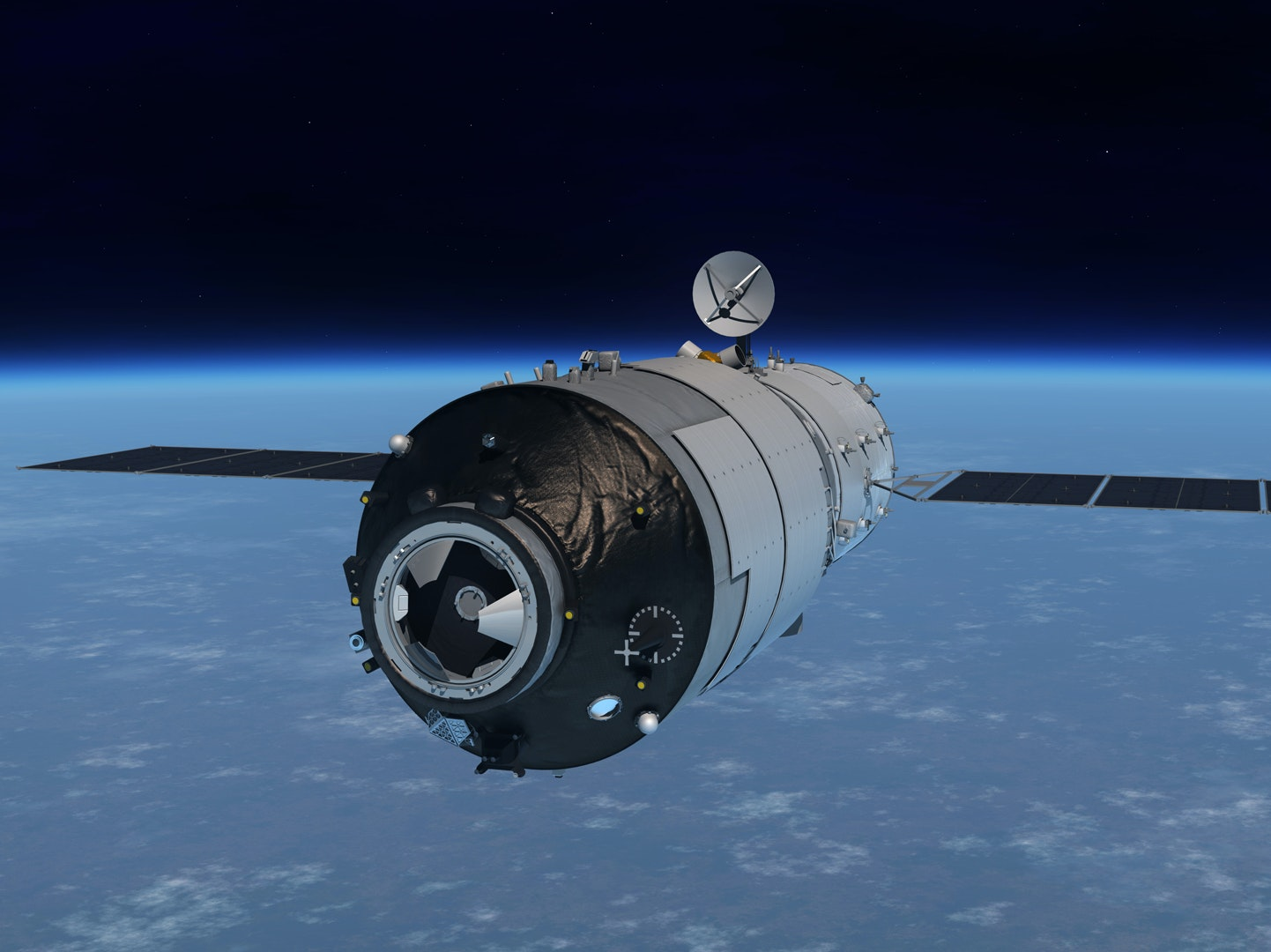 """China's Runaway Space Station Might Cause a """"Rain of Metal"""""""