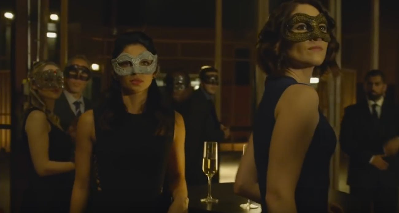 Alex Danvers and Maggie Sawyer in 'Supergirl'