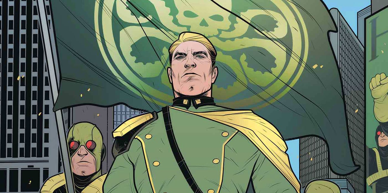 Marvel fans are boycotting the publisher for releasing 'Secret Empire', in which Steve Rogers is still a HYDRA agent