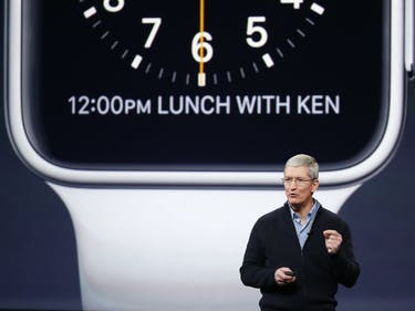 Tim Cook: Apple Watch is as Technically Complex as the iPhone