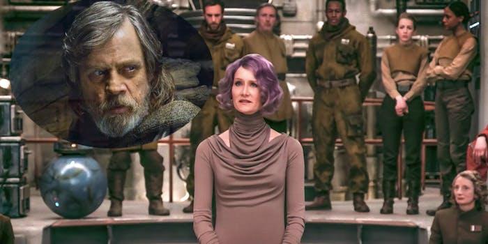 Luke Skywalker meet...Admiral Holdo