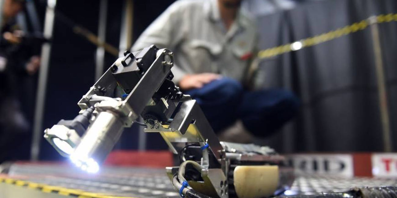 clean up robot long version