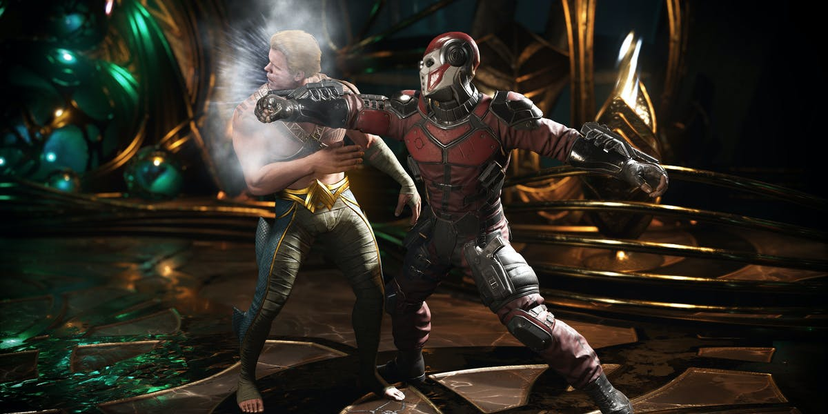 NetherRealm Injustice 2 Deadshot Aquaman