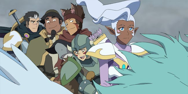 There's More to the 'Voltron' D&D Episode Than You Think, Showrunners Say