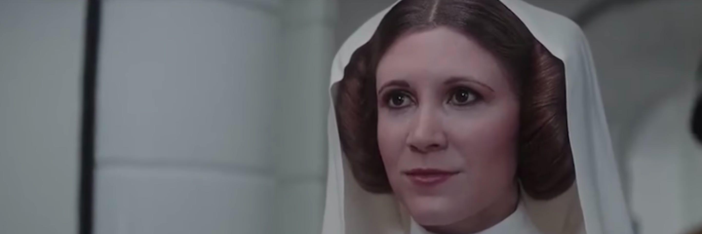 Rogue One Leia
