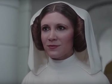Carrie Fisher Didn't Realize Leia Was CGI in 'Rogue One'