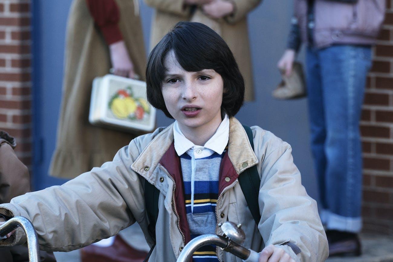 Finn Wolfhard plays Mike Wheeler in 'Stranger Things.'