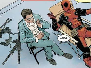 Deadpool's Recent Success Lands Him In Therapy
