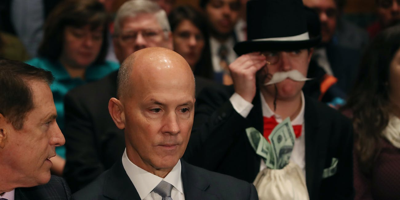Monopoly Man Costume Equifax