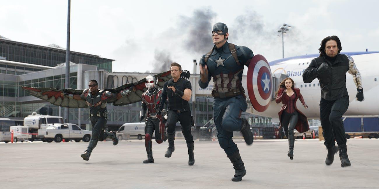 Captain America Civil War Ant-Man