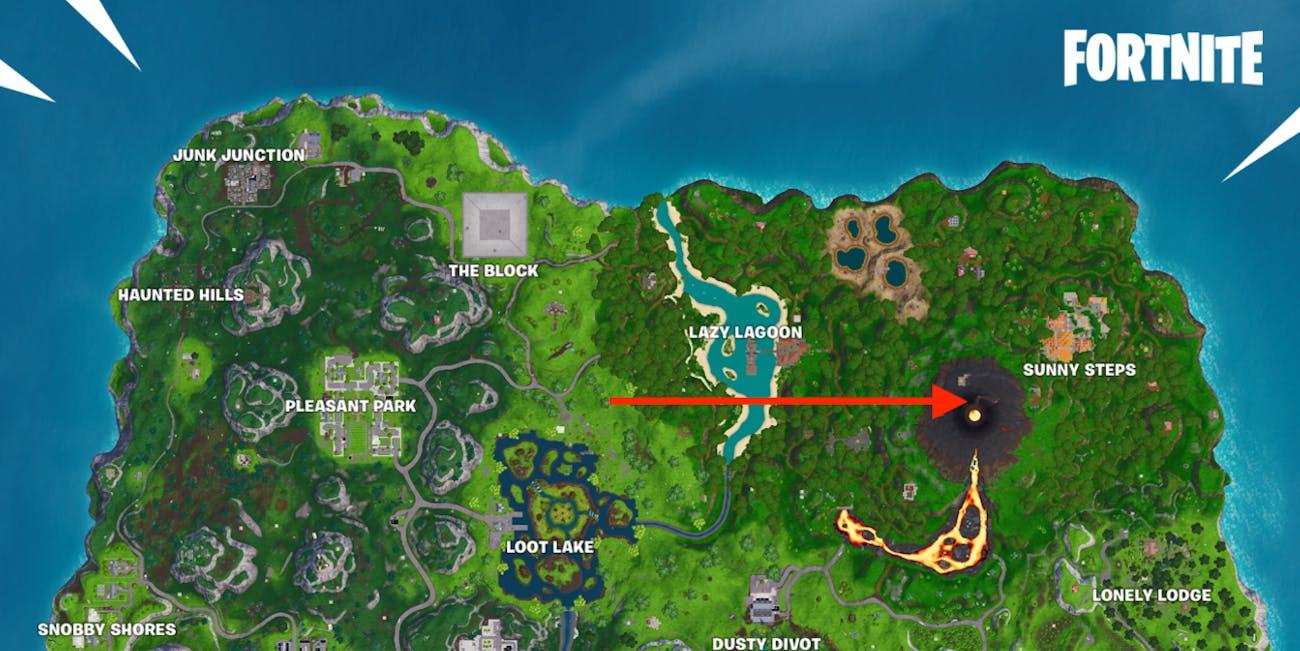 Fortnite Week 10 Secret Battle Star Location Leads To A Hidden