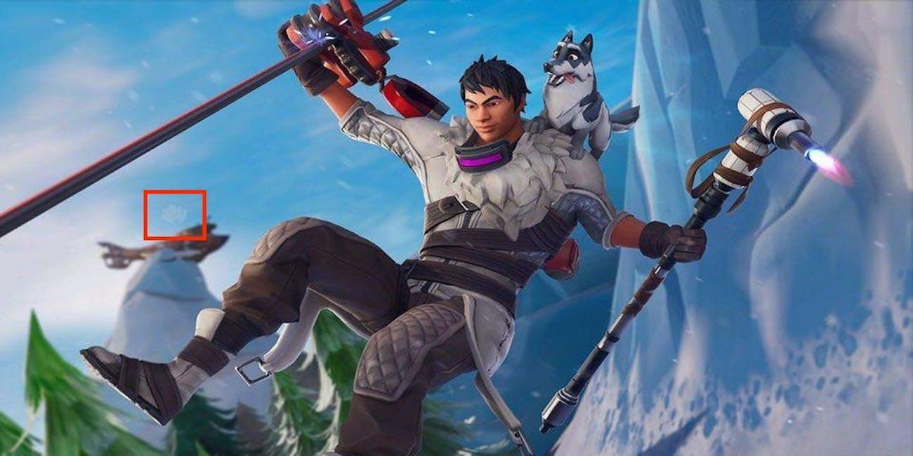 'Fortnite' Snowfall Week 1 Loading Screen