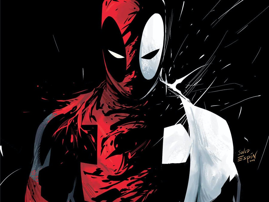 Deadpool's New Venom Outfit Is Slick and Savage AF