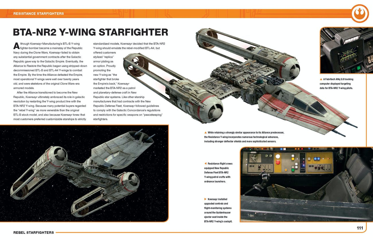 The new Y-wing from 'The Rise of Skywalker'