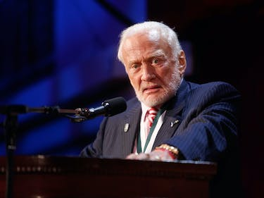 """Ailing"" Buzz Aldrin Has Been Evacuated From the South Pole"