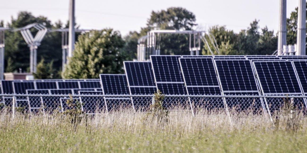 solar farms solar power