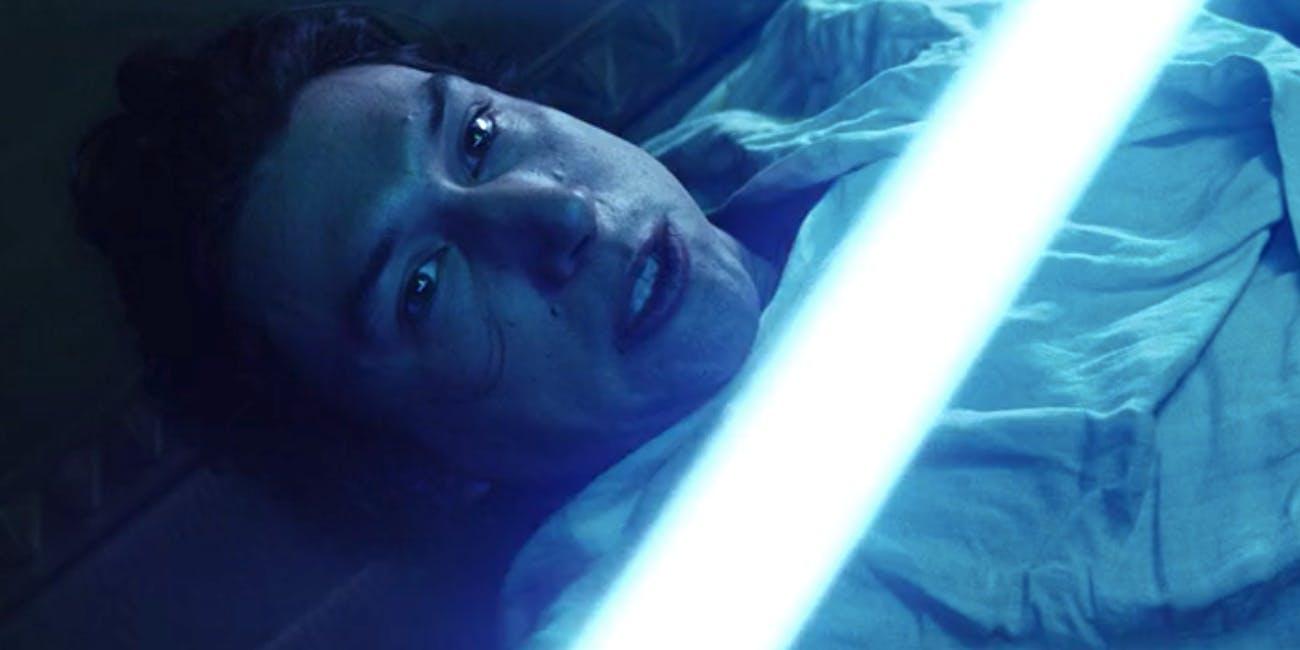 Ben Solo (Adam Driver) in 'The Last Jedi'