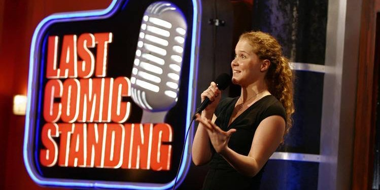 Schumer on 'Last Comic Standing' in 2007.