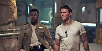 John Boyega's Jake Pentecost and Scott Eastwood's Nate Lambert lead a new generation of Jaeger pilots.