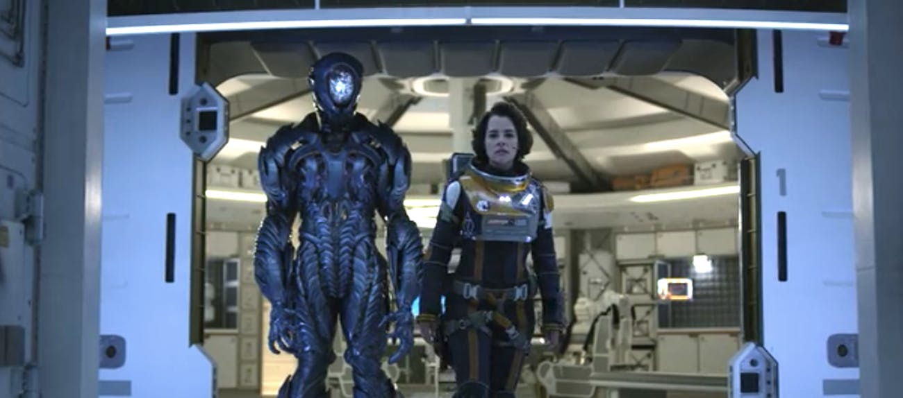 """""""Dr Smith"""" and the Robot in """"Lost In Space'"""