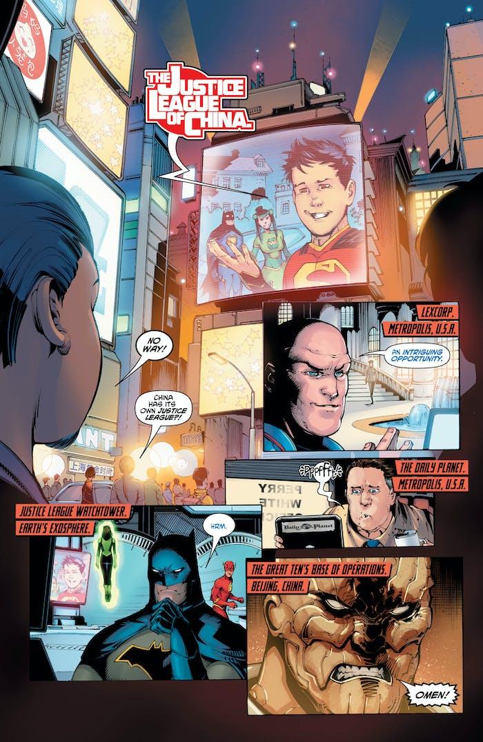 DC Comics New Super-Man Chinese Superman