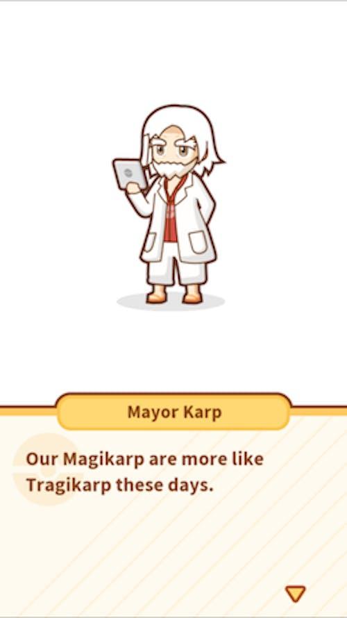 Mayor Karp never stops with the amazingly bad puns.