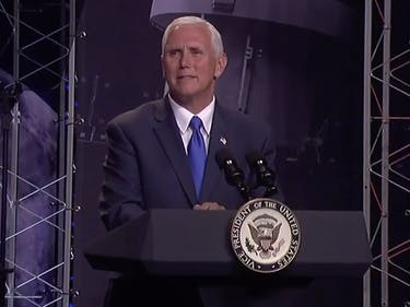 Mike pence national space council